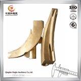 Pezzi fusi del Gunmetal del pezzo fuso di sabbia del Gunmetal della fonderia del pezzo fuso della Cina per la strumentazione di Contruction