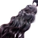 Естественные прямые человеческие волосы девственницы волны, волосы бразильянина очищенности