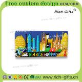 Ricordo promozionale personalizzato Barcellona (RC-ES) dei magneti del frigorifero del magnete della decorazione dei regali