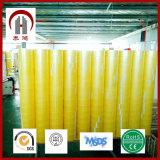 Material de BOPP y agua activada de la cinta adhesiva