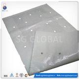 sachet en plastique tissé par pp blanc de 70X110cm