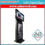 スクリーンのメディアプレイヤーを広告する屋内55インチのモールデジタルLCDデジタル