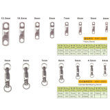 WHO ale high Quality Stainless stalk forty-five Swivel
