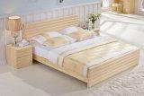 固体木のベッドの現代ダブル・ベッド(M-X2270)