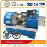 Машина Lathe CNC колеса механического инструмента CNC металла кровати скоса колеса сплава