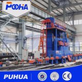 Roller Conveyor Steel Pipe Shot Blasting Cleaning Machine Preço