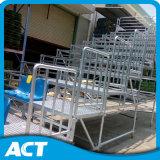 Hot-DIP гальванизированное стальное сделанное Scalffolding Spectator стойка Demountable Grandstand