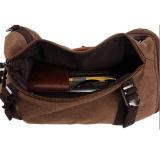 Saco de Duffel ao ar livre da trouxa da mochila da trouxa da lona do cilindro para homens e mulheres com 3 maneiras de carreg 8540 (Khaki)