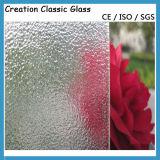 o vidro modelado do bronze de 4mm, bronzeia o vidro figurado