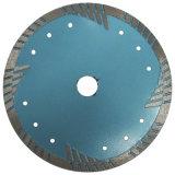 Het speciale Diepe Blad van de Zaag van de Diamant van de Tand met Bescherming Segmentes voor Graniet