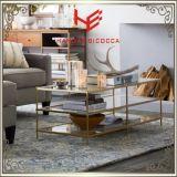 茶表(RS161004)のコンソールテーブルのステンレス鋼の家具のホーム家具のホテルの家具の現代家具表のコーヒーテーブルの側面表のコーナー表