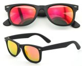Óculos de sol plásticos da forma dos homens & das mulheres (Y0112)