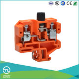 Type genre orange de fusible d'Utl de longeron de la prise électrique petit DIN