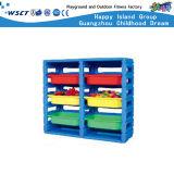 Мебель детсада шкафа хранения рабата пластичная (M11-07312)