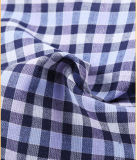 T-/Cgarn gefärbtes Check-Entwurfs-Hemd-Gewebe