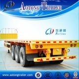 Aanhangwagen van de Container van de multi-as 40t/45t Flatbed voor Verkoop (LAT9390P)