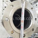 Acero inoxidable 304 instalaciones de tuberías dobles del cortocircuito del borde