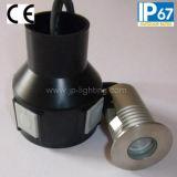 Indicatore luminoso sotterraneo del CREE LED dell'acciaio inossidabile 1watt (JP82011)