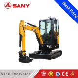 Sany Sy16 1.6tonsの構築および庭のUsege中国の小型坑夫