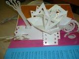 Складная коробка подарка бумаги рождества