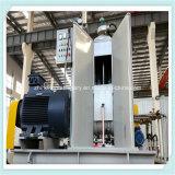 O PLC controla o misturador de borracha automático