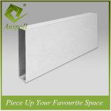 Плитки потолка дефлектора украшения деревянного цвета алюминиевые с ISO9001