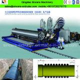 HDPE PP Krahの波形の管の放出の生産のプラスチック押出機の機械装置