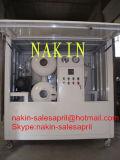 Regeneração do petróleo do transformador do vácuo do Dobro-Estágio, petróleo que recicl a máquina