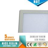 5years garantía 1200*300m m 36W LED Panellight con el certificado de RoHS del Ce