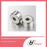 Forte magnete permanente personalizzato del neodimio dell'anello NdFeB/di N35-N52 NdFeB per industria
