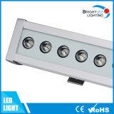 24W IP65 DMX512 LED RGB Wand-Unterlegscheibe-Stadiums-Licht