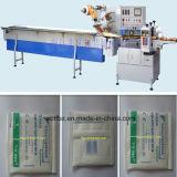 Máquina de envolvimento automática do fluxo da gaze do algodão do preço de fábrica de China