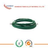 Зеленые и белые провод термопары изоляции/кабель (тип KX)