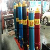 Cylindre hydraulique télescopique à plusieurs étages d'élévateur