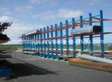 Шкаф хранения промышленного селективного сверхмощного пакгауза консольный с конструкцией крыши