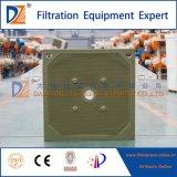 Placa de filtro de borracha da membrana de Dzhang