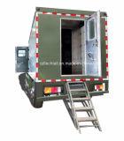 Militair Gebruik die Vrachtwagen voor Militairen tonen