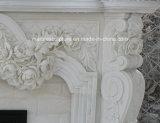 Fleurs de vente chaudes de bordure de cheminée de marbre de modèle de mode (SY-MF151)