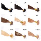 Extensiones humanas del pelo de Remy de la Virgen de Ombre, extensiones del pelo de la queratina