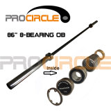 Erstklassiges Crossfit Barbell mit Bearings Black Professional Olympic Bar (PC-OB100-1002)