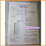 18 Kanal CCTV-Schaltungs-Stromversorgung 12V-20A-18CH 250W