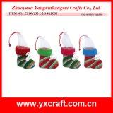 Noël s'arrêtant de décoration d'usager de face de Noël de la décoration de Noël (ZY14Y180-1-2-3-4)