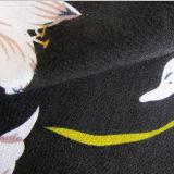 Pano da qualidade de Challis de rayon para a tela da camisa/vestido das meninas