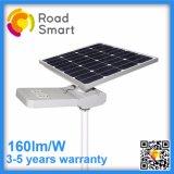 éclairage solaire de trottoir de 160lm/W DEL avec 5 ans de garantie