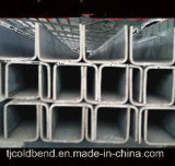 Tipo galvanizado perfil de U do aço