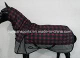 Couverture de cheval lourde de l'hiver de sellerie d'alerte de polyester de mode