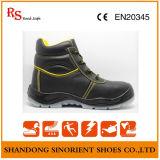 Sapatas de segurança da terra do trabalho do couro da ação com certificado do Ce