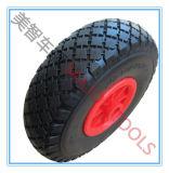 10X3.00-4 Roda de trole de mão PU Foam Tire