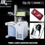 Prix de machine de marque de machine d'inscription de laser en métal de fibre de l'acier de cuivre d'Alumnium