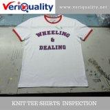 Brei de Dienst van de Inspectie van de Kwaliteitsbeheersing Van de Overhemden van het T-stuk in Xiamen, Fujian
